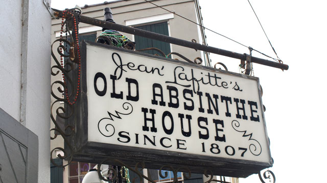 PHOTO: The Old Absinthe House is a perfect place to take a quick break from the bawdiness of Bourbon Street.