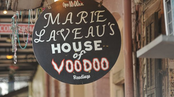 PHOTO: Marie Laveaus House of Voodoo, New Orleans