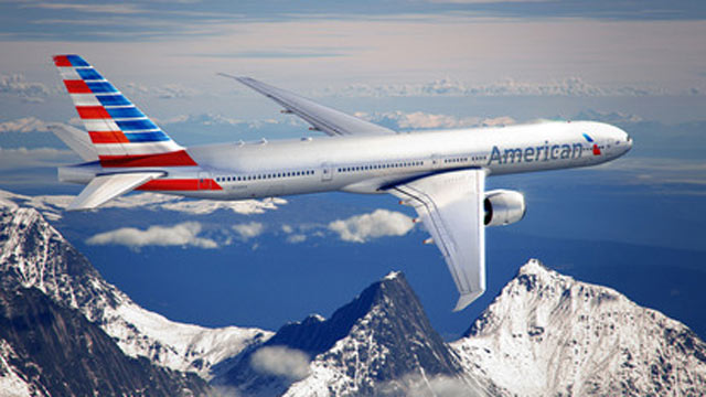 PHOTO: American Airlines unveiled a new logo on Jan. 17, 2013.