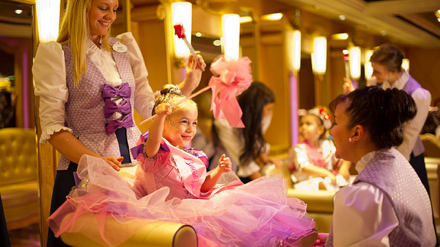 PHOTO: The Bibbidi Bobbidi Boutique is a new addition to the Disney Fantasy