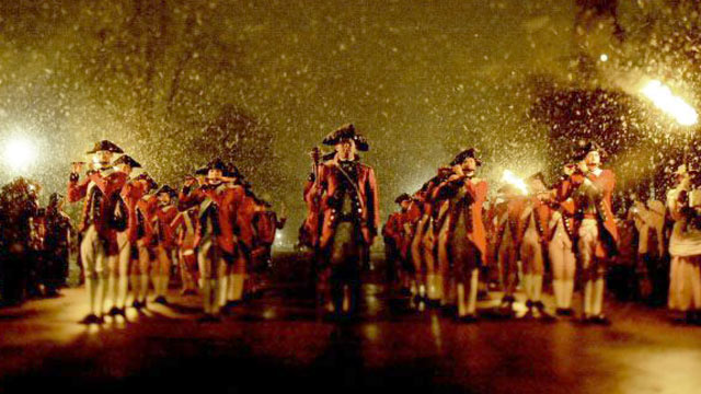 PHOTO: The entire town of Colonial Williamsburg during the holiday season,has a Christmas Carol buffet and one-man performance; a ceremonial Firing of the Christmas Guns; and of course, carolers, chocolate, ice skating, and a Christmas market.