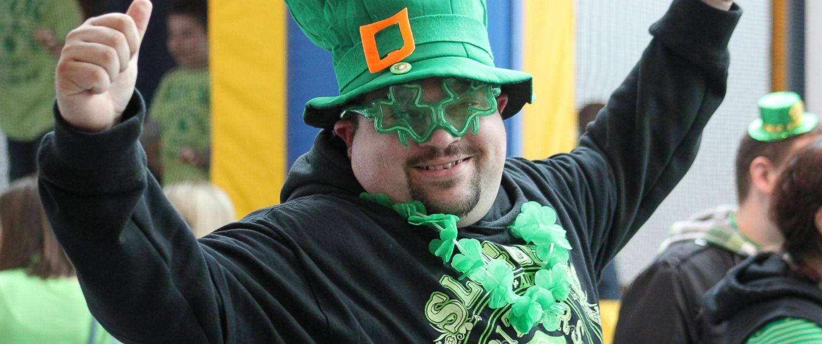 PHOTO: Irish Hooley at the St. Patricks Day Parade in Syracuse, New York.