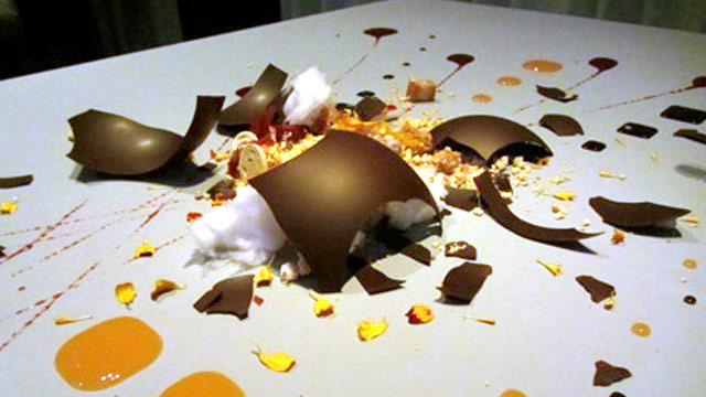 PHOTO: Dish at Alinea