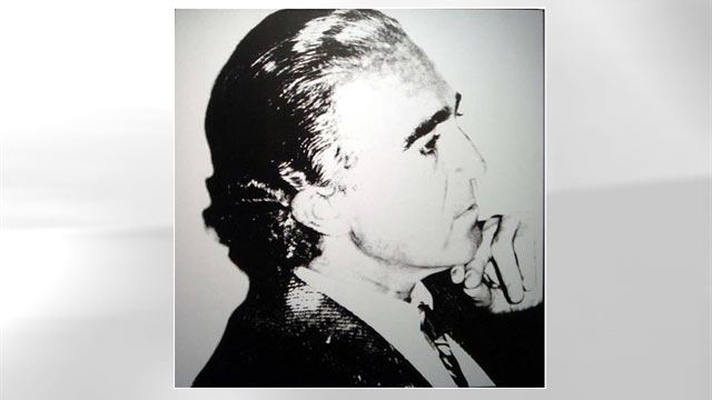 PHOTO: Andy Warhol's, Bruno Acampora can be seen at the Gramercy Park Hotel.