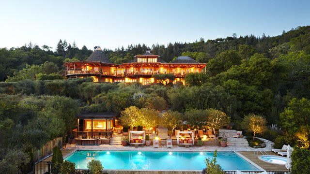 PHOTO: Auberge du Soleil is a is a small, luxury inn in California Wine Country.