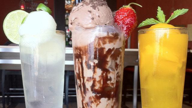 PHOTO: The Boozy Bon Bon features Stoli Vanilla, Godiva Mocha Liqueur and Pepsi atop chocolate ice cream is a must.