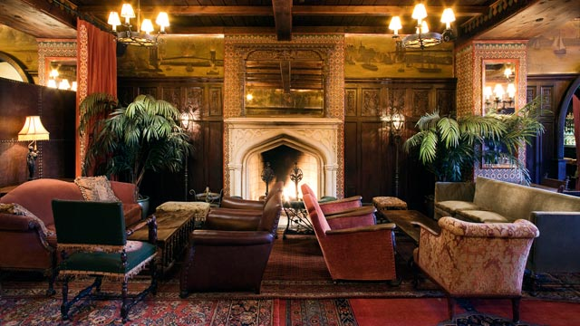 PHOTO: Bowery Hotel Fireplace