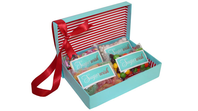 PHOTO: Sugarwish is the first and only e-commerce candy gift site to offer candy customization based on the recipients sweet tooth,