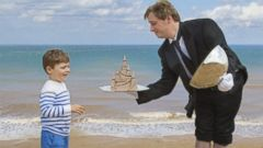 PHOTO: Olivers Travels, a luxury vacation company based in the U.K., is offering its clients a sandcastle butler to help create the sand sculptures of kids dreams.