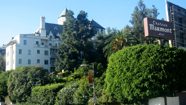 PHOTO: The Chateau Marmont Hotel in West Hollywood, CA is seen in this Dec. 19, 2006 file photo.