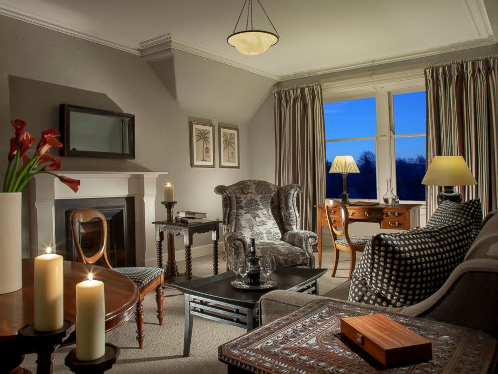 PHOTO: A view of the Burns Room at the Cromlix hotel.