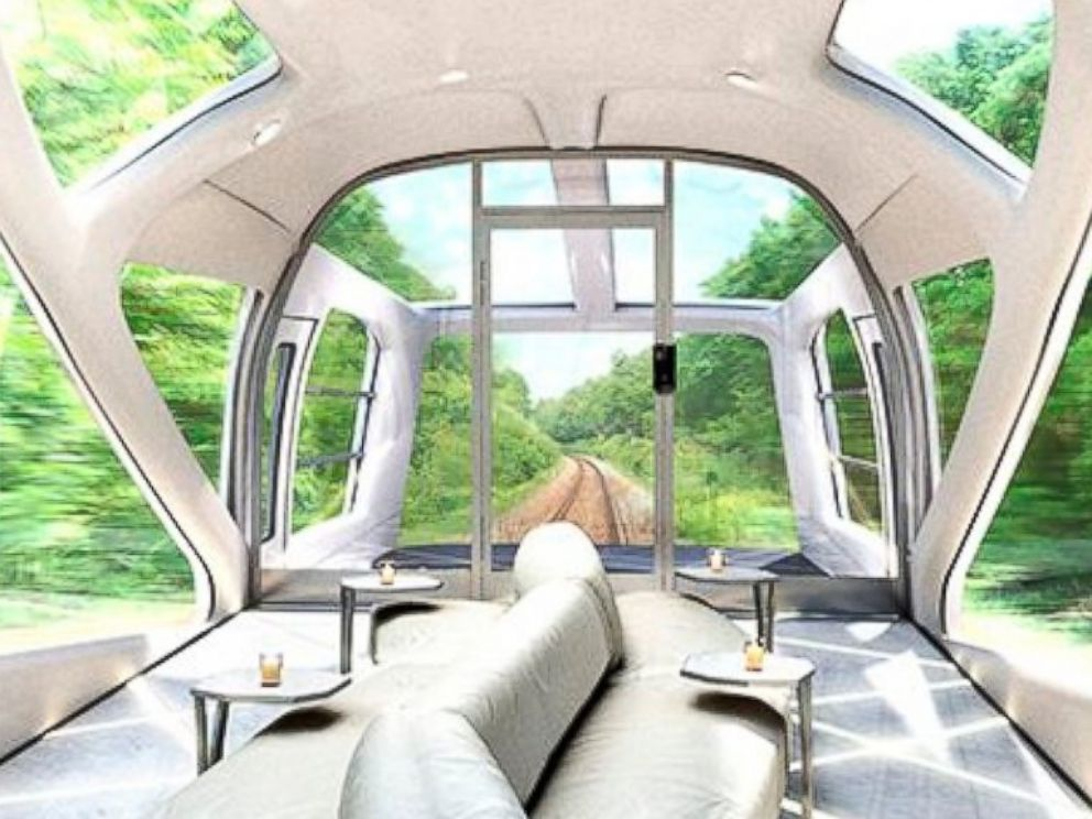 PHOTO: JR East Railways in Japan has designed the Cruise Train, a luxurious passenger train.