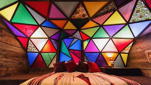 PHOTO: One of the trendsetting art hotel brands in the United States, 21C always has made art into an integral part of the guest experience, taking it beyond the public areas and into every available space.