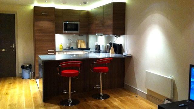 PHOTO: Central London apartment.
