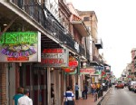 PHOTO: New Orleans famous French Quarter.