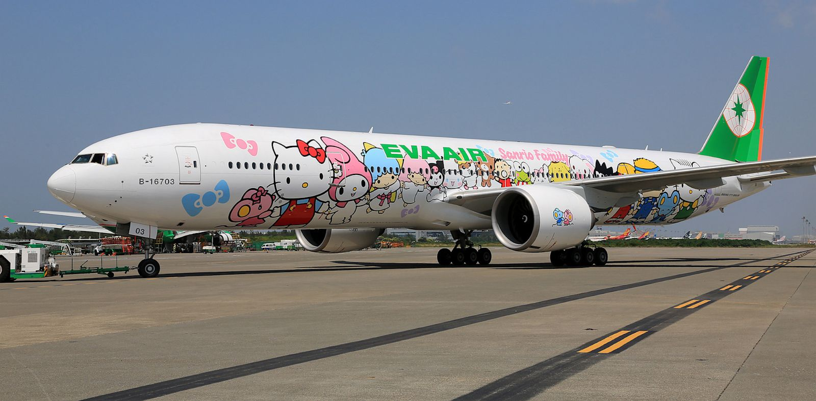 PHOTO: The Hello Kitty EVA Jet