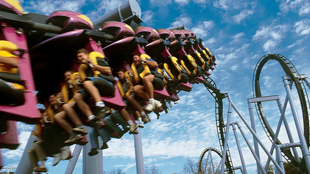 """PHOTO: Hersheyparks roller coaster """"The Great Bear"""" is seen here in this undated photo."""