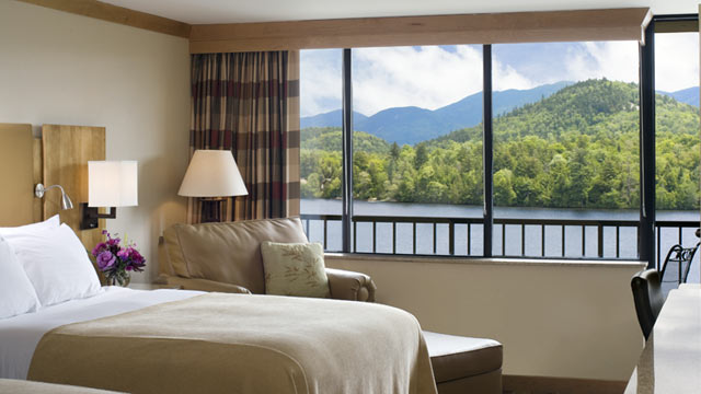 PHOTO: The High Peaks Resort in Lake Placid, New York is offering $99 rates to those displaced by Sandy.