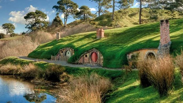 PHOTO: When Peter Jackson decided to film the Lord of the Rings series in New Zealand, viewers became enchanted with the faraway country's dramatic mountainous beauty. With The Hobbit now in theaters, New Zealand's bucolic farms are in the spotlight-parti