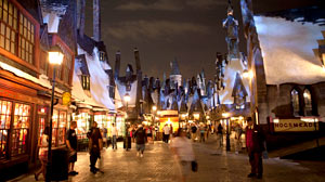 Photo: 7 Secrets Behind Universal?s Harry Potter Ride Creator of Universal Orlando attraction shares hidden features of Harry Potter.