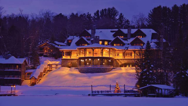 "PHOTO: The Lake Placid Lodges ""Check-In To Check-Out"" package requests guests participating in this experience will check all electronic devices upon arrival."