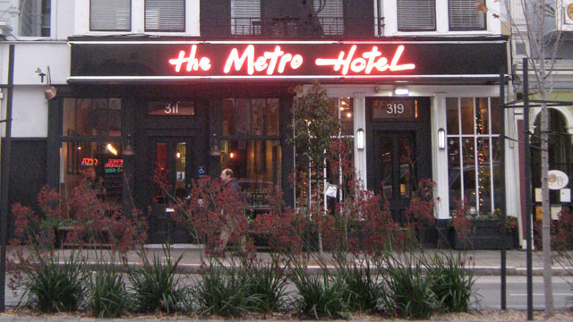 PHOTO: Metro Hotel, San Francisco, California.
