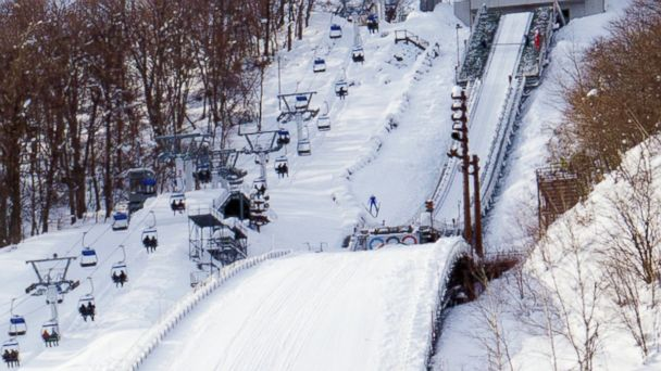 PHOTO: Mount Okura Ski Jump Stadium, Hokkaido Prefecture, Japan