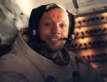 PHOTO: Neil Armstrong on Apollo 11