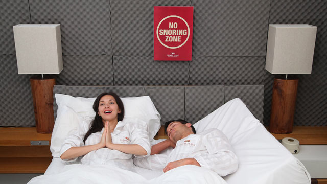 PHOTO:Select Crowne Plaza hotels are implementing snoring monitors and snore patrols to control snoring in their hotels.