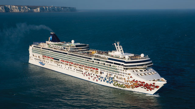 PHOTO:Passengers on Norwegian Cruise Lines Gem will have the option to leave the ship in Boston today.