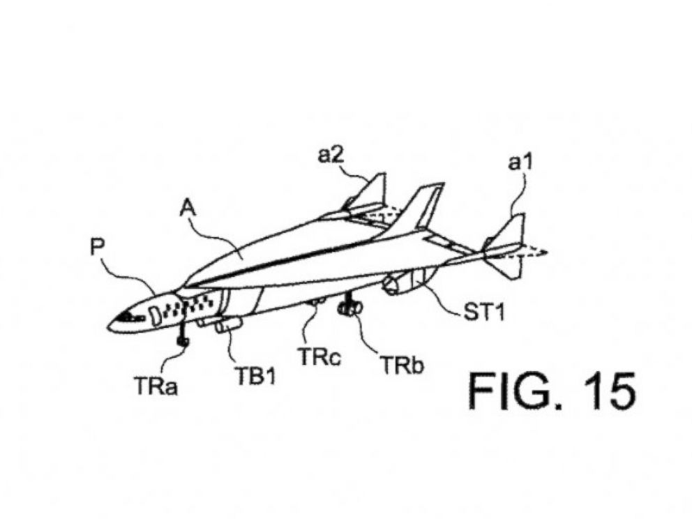 PHOTO: The U.S. government approved a patent for Airbus Concorde-2 in July 2015.