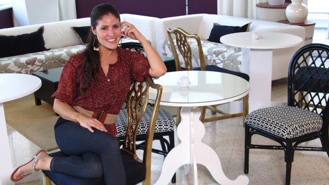 PHOTO: Blanche Garcia at The Penguin Hotel in South Beach, one of the hotels made over on ?Hotel Impossible.?