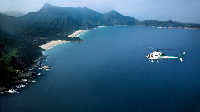 PHOTO:Another very special al fresco adventure available by request from Peninsula Hotels is a beach picnic on the secluded Sai Kung Peninsula. If you're one of those people who think that Hong Kong is nothing but skyscrapers, noodle shops and aggressive
