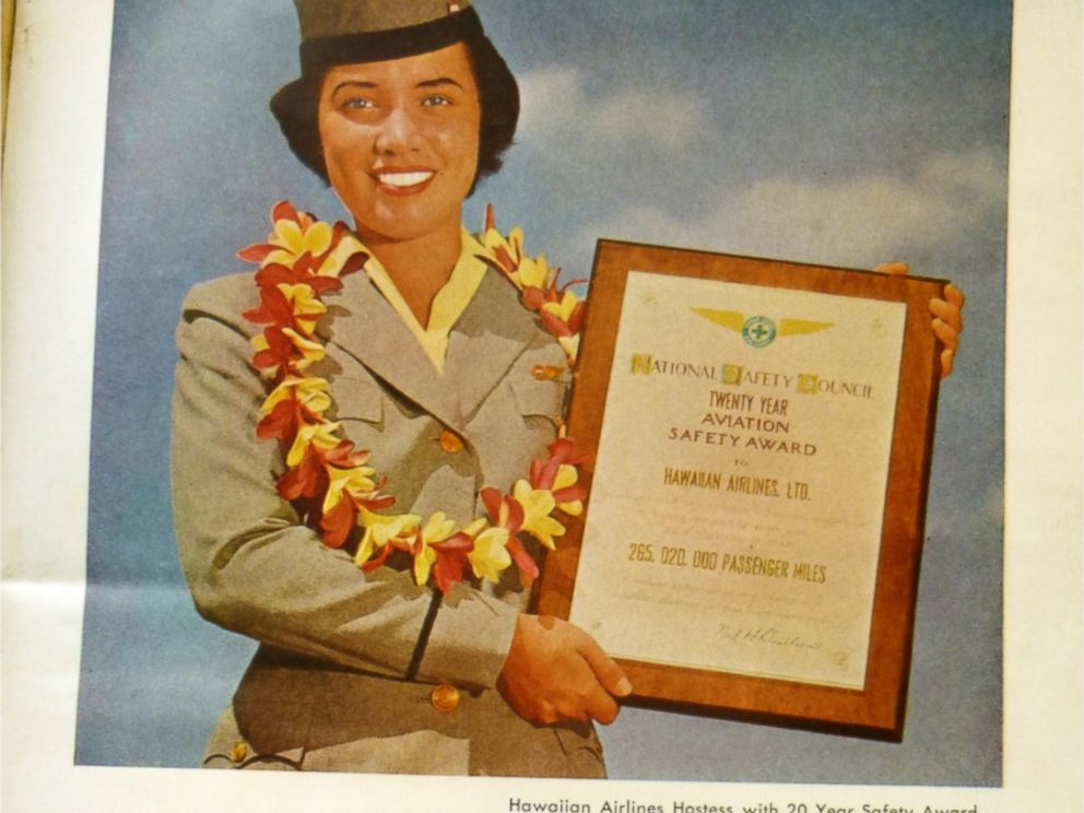PHOTO: In 1950, the National Safety Council presented Hawaiian Airlines with a 20-year perfect safety award, the first airline in history to win this award.