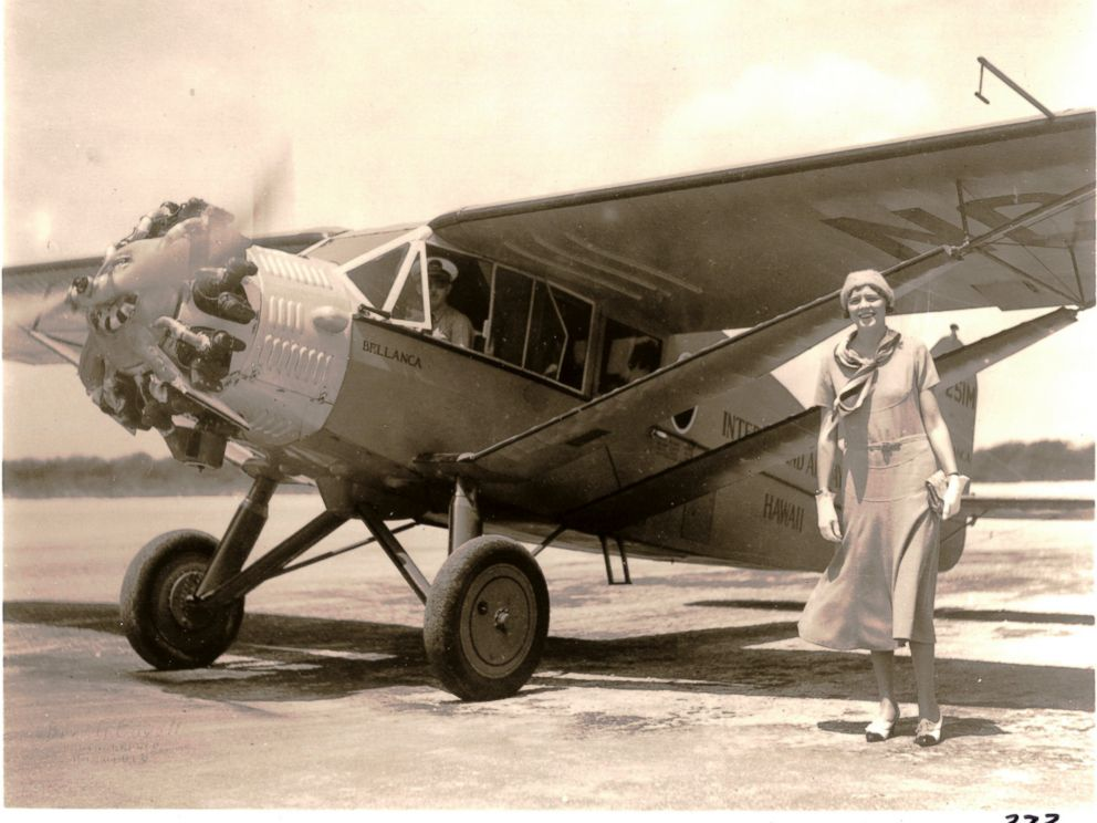 PHOTO: n October 1929, a Bellanca monoplane offered sightseeing service for $5 per person (the original Bellanca has been restored in Oregon and is flying today).