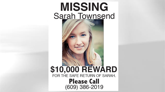 PHOTO:The family of missing teen Sarah Townsend are setting up a billboard, handing out flyers at train stations and offering a $10,000 reward for their daughters safe return.