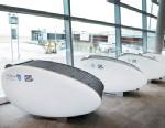 "PHOTO: Abu Dhabi Airports new ""sleeping pods""."