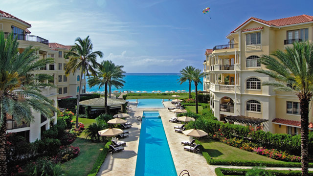 PHOTO: The pool at The Somerset at Grace Bay in Turks & Caicos