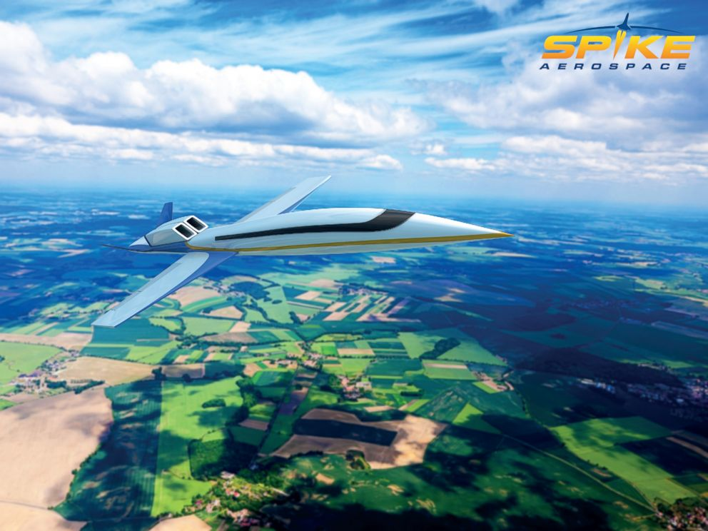 PHOTO: Pictured is the S-512 Supersonic Jet.