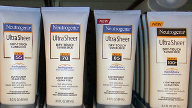 PHOTO: Sunscreen
