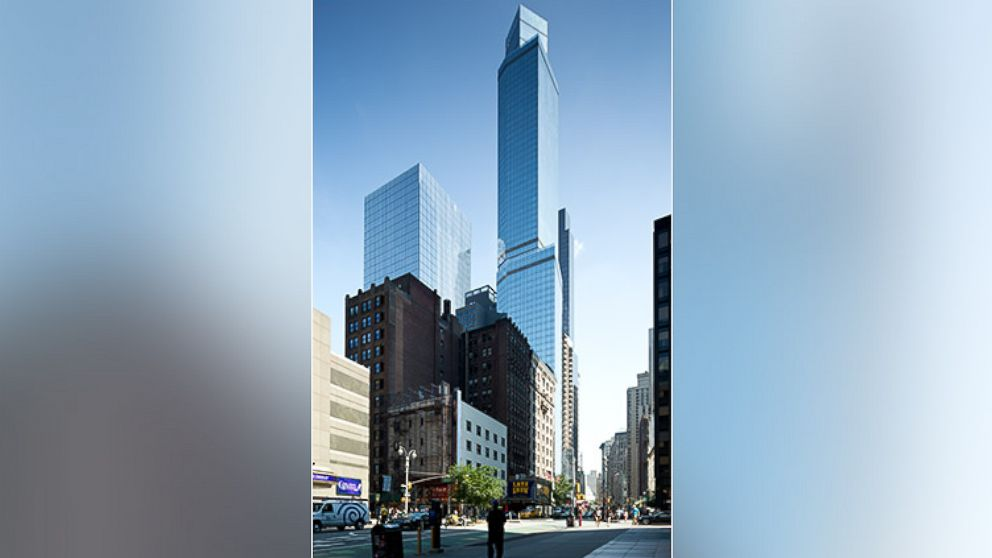 Tallest hotel in america opens in new york city abc news for Hotel americano nyc