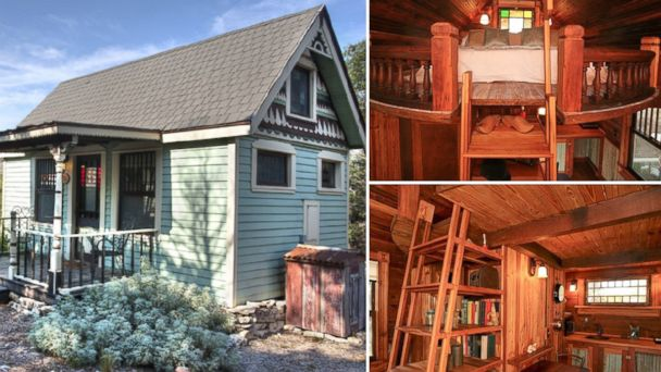 10 teeny tiny houses available for rent abc news for Texas hill country houses for sale