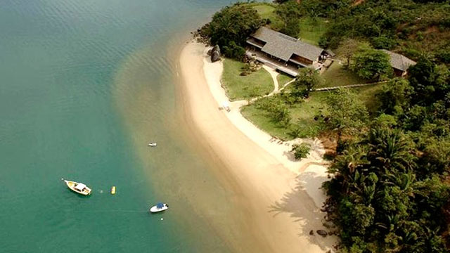 PHOTO: A beach home in Paraty, Rio de Janeiro, Brazil is shown.