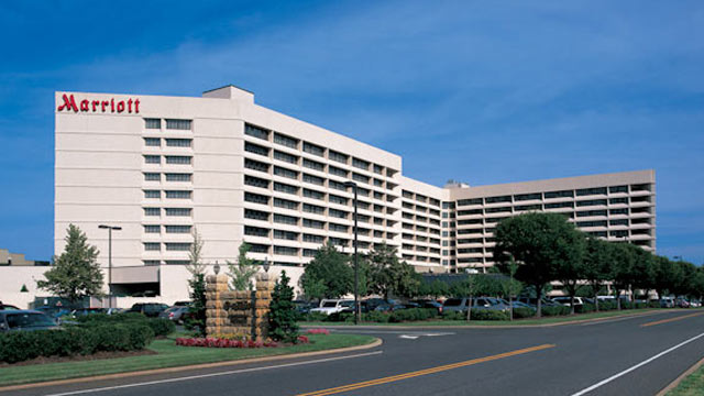 PHOTO: The Long Island Mariott in Uniondale, N.Y.
