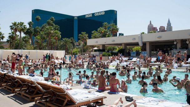 PHOTO: Wet Republic at the MGM Grand Hotel & Casino.