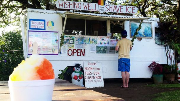 PHOTO: Wishing Well Shave Ice.