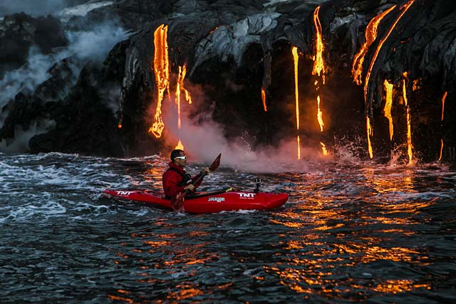 ld lava kayak hawaii 13 ll 130409 wblog Playing With Fire: A Row Into Danger
