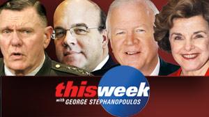 This Week: Senator Saxby Chambliss, Congressman Jim McGovern, Senator Feinstein, General Keane.