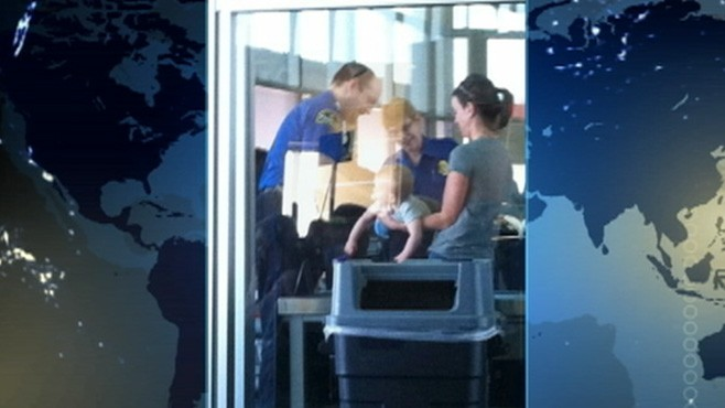VIDEO: TSA says agents followed airport screening procedure involving a child.