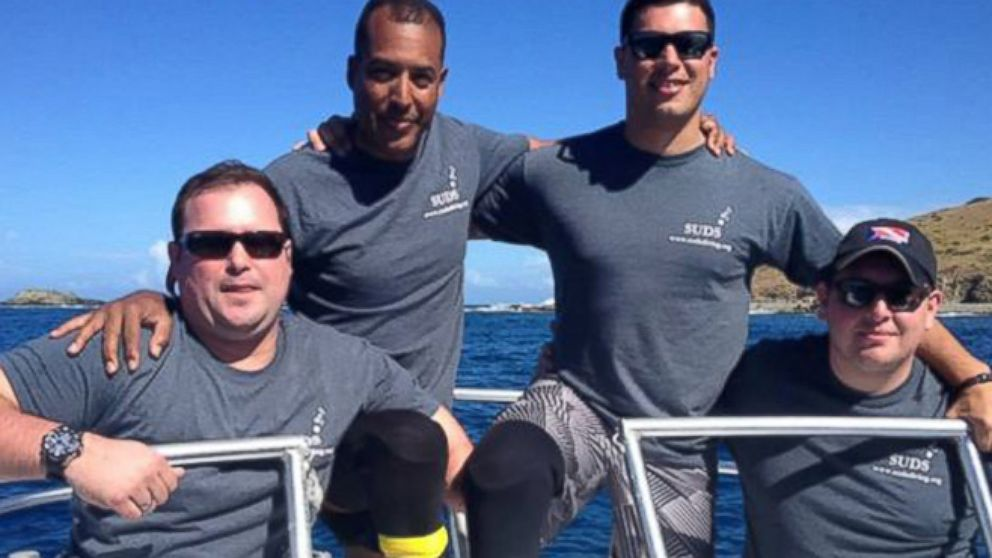 VIDEO: Diving Program Helps Wounded Soldiers with Rehab